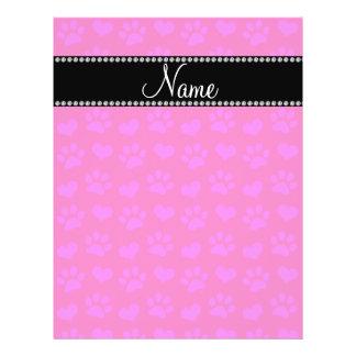 Corazones de las rosas fuertes y pri de neón conoc folleto 21,6 x 28 cm