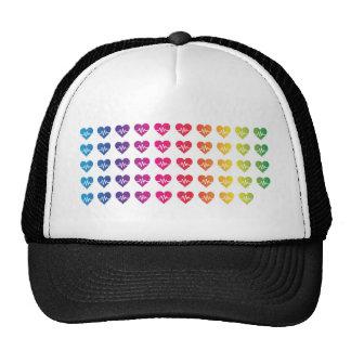 Corazones de un de Orlando una arco iris 49 del Gorros