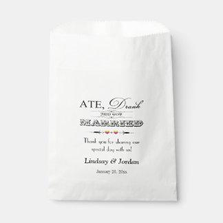 Corazones del arco iris del bolso el | del favor bolsa de papel
