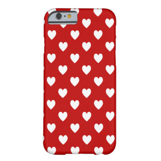 Corazones Funda Para iPhone 6 Barely There