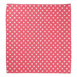 Corazones rosados de la polca