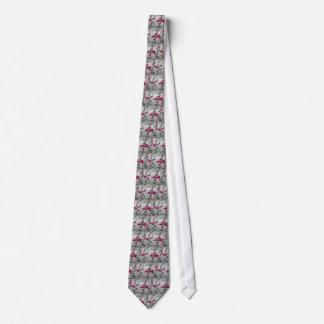 Corbata Abeja blanco y negro