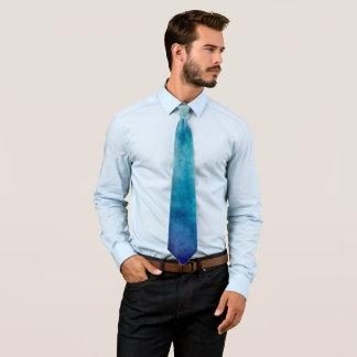 Corbata Acuarela fresca del azul de Oracle