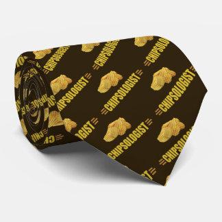 Corbata Amantes divertidos de la patata frita de