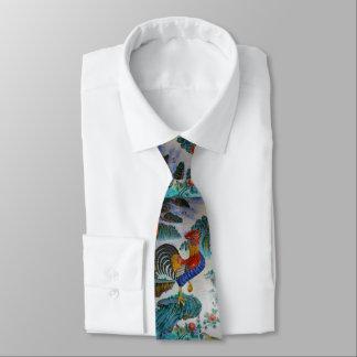 Corbata Año del diseño 1 del lazo del gallo