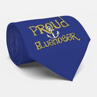 Corbata Azul orgulloso del lazo del ancla de Bluenoser