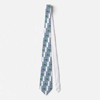 Corbata Bailarina en arte verde