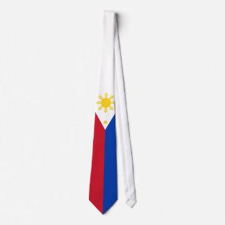Corbata Bandera filipina