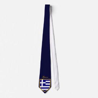 Corbata Bandera hermosa de Grecia