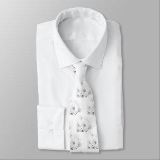 Corbata Blanco en blanco