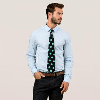Corbata Bolas azules claras