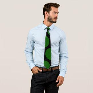 Corbata Bolas verdes