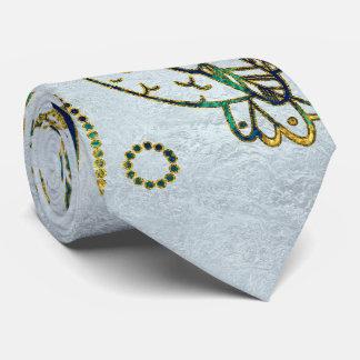 Corbata Búhos decorativos