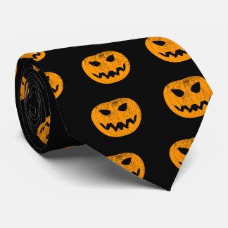 Corbata Calabaza anaranjada del Grunge