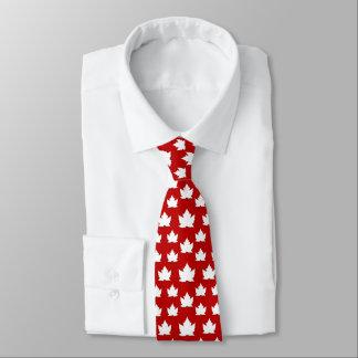 Corbata Canadá ata las corbatas del recuerdo de Canadá de
