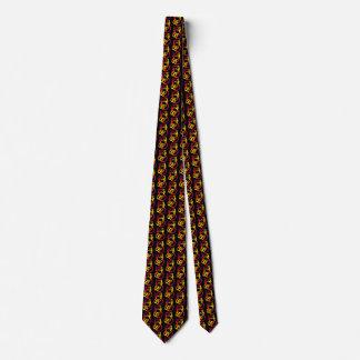 Corbata céltica del gato del nudo de la trinidad