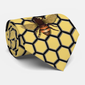 Corbata cera de abejas