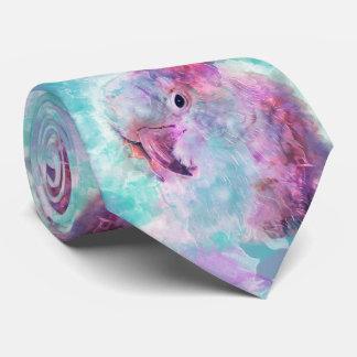 Corbata Cockatoo de la acuarela