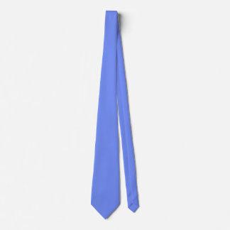 Corbata Color azul graciosamente popular