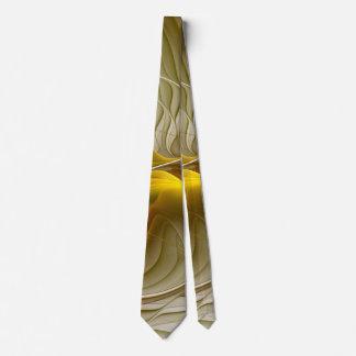 Corbata Colores de metales preciosos, arte abstracto del