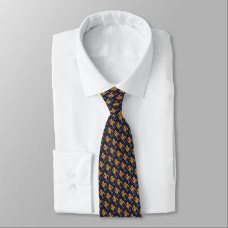 Corbata con acuarela de flor
