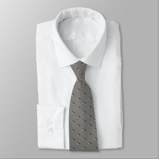 Corbata con acuarela de lavandera cascadeña