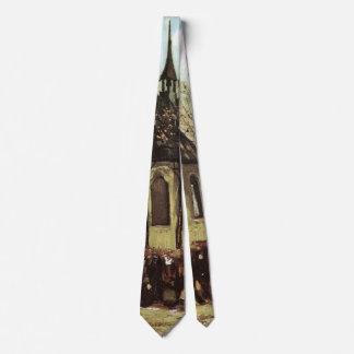 Corbata Congregación de Van Gogh que sale de la iglesia