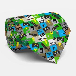 Corbata Corbatería del videojugador del tema del