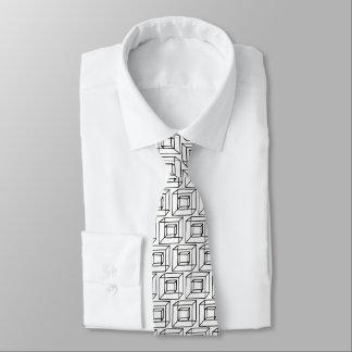 Corbata Cuadrados geométricos