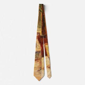 Corbata De Van Gogh del ajenjo del vintage todavía del