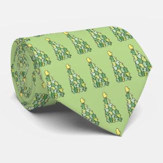 Corbata del árbol de la manopla del día de fiesta