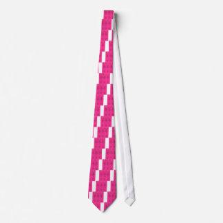 Corbata Diseño maravilloso rosado de la gente de los
