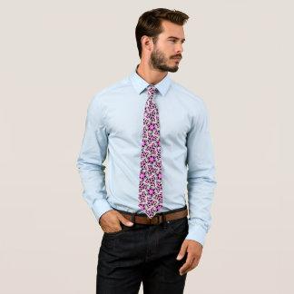 Corbata Diseño único, futurista del garabato