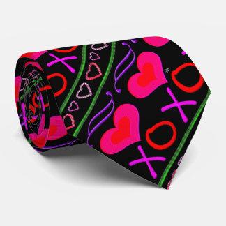 Corbata El el día de San Valentín del color de la