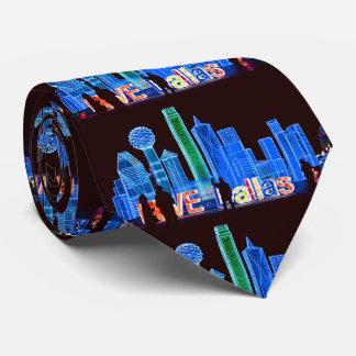 Corbata El lazo de los hombres del horizonte de Dallas
