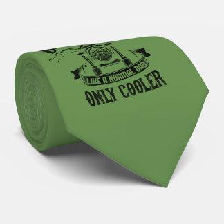 Corbata El papá del motorista tiene gusto de un papá