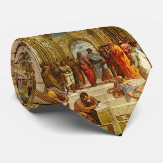 Corbata Escuela de Atenas por Raphael