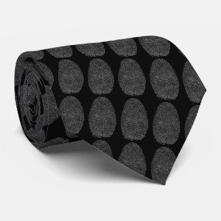 Corbata Fichero de la huella dactilar