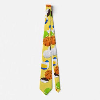 Corbata Fiesta de las bolas del deporte del personalizar