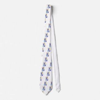 Corbata Flores coloridas