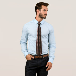Corbata Forme el lazo para Hombre-Brown/el oro/la plata/el
