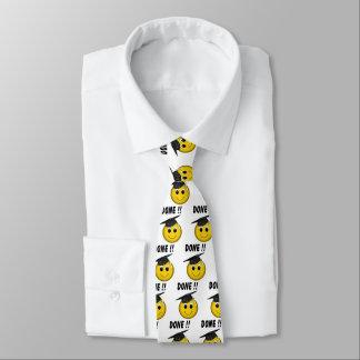 """Corbata Graduación """"hecha"""" divertida de Emoji"""