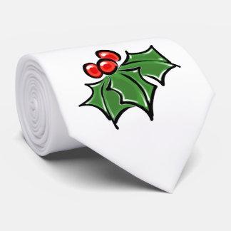 Corbata Hojas del acebo
