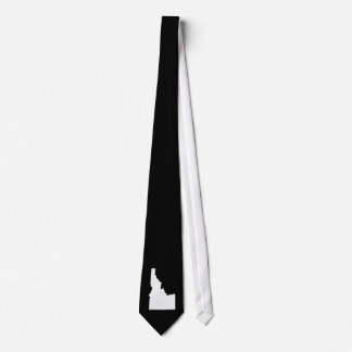 Corbata Idaho en blanco