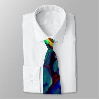 Corbata lazo casual para hombre del mármol del agua del