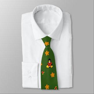 Corbata Lazo casual rojo y verde de Tux