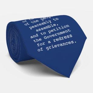 Corbata Lazo de la Primera Enmienda - Declaración de