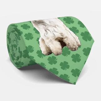 Corbata Lazo del día de Terrier St Patrick de trigo