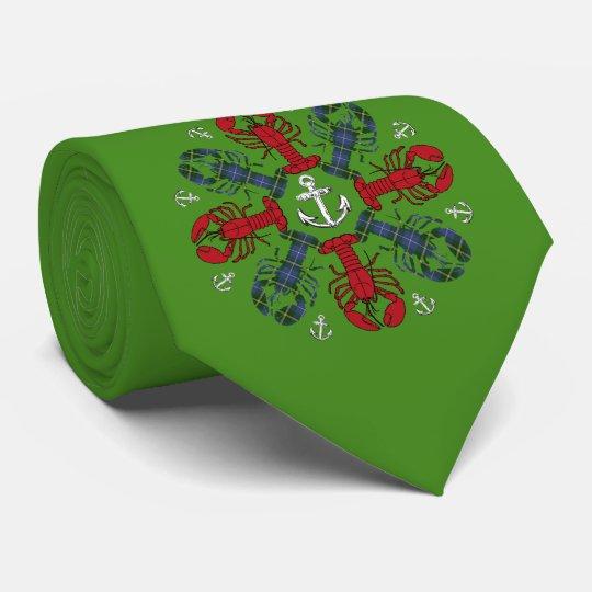 Corbata Lazo feo del ancla N.S.Christmas del copo de nieve