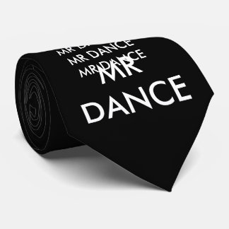 Corbata Lazo negro para los bailarines